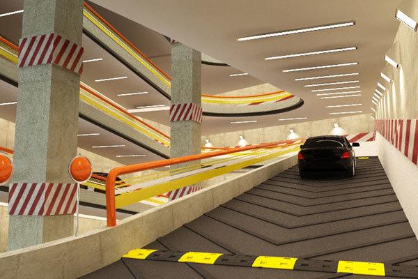 امکان سنجی بهره برداری از پارکینگ های رباتیک در بافت های فرسوده